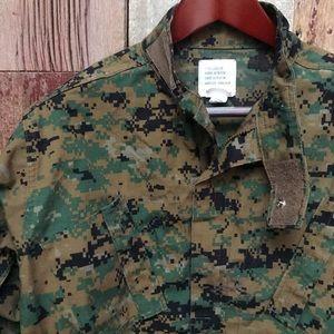 Camo Jacket Small